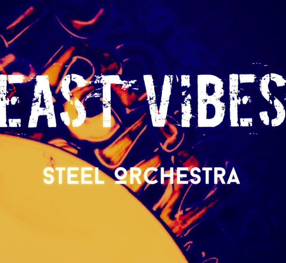 East Vibes Steel Orchestra - band logo -Antigua & Barbuda - When Steel Talks