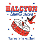 Band logo of Halcyon Steel Orchestra - Antigua