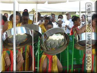 Cultural Drama Club Steelband in Dominica