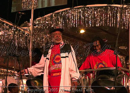 Clive Bradley with Pantonic Steel Orchestra