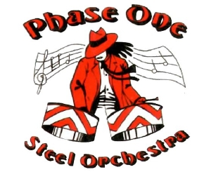 Phase One Steel Orchestra band logo - When Steel Talks
