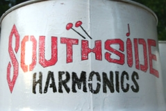 Southside Harmonics band logo - When Steel Talks