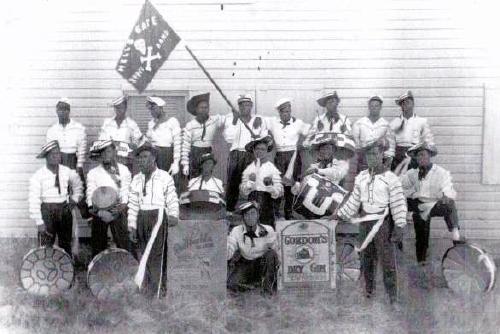 Hells Gate Steel Orchestra of Antigua & Barbuda in 1950
