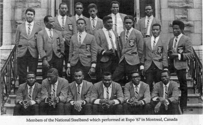National Steelband of Trinidad and Tobago 1967