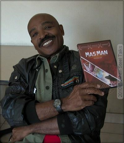 Mas Man Film director, pan man and pan historian - Dalton Narine