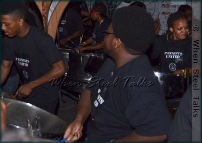 Sonatas Steel Orchestra perform at their 2014 launch