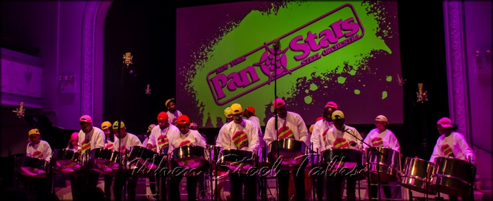 New York Pan Stars Steel Orchestra performs at 2018's Pan Is Sweet
