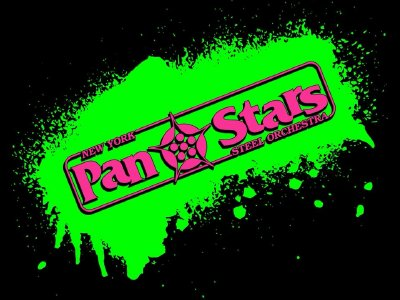 New York Pan Stars Steel Orchestra band logo