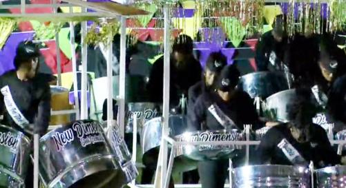 New Dimension Steel Orchestra at the 2019 Grenada National Panorama