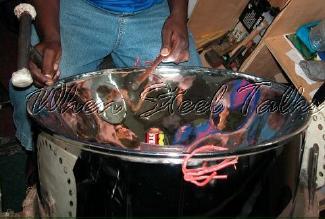 Tuning a tenor pan instrument