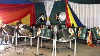 Instruments donated to the Nigerian Military School, Zaria, by ATTSDC