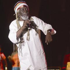 Calypso icon and veteran calypsonian and former Calypso Monarch Black Stalin (Leroy Calliste) performs in July at the opening of the Emancipation Village at the Queen's Park Savannah, Port of Spain.