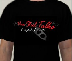 When Steel Talks (WST) T-Shirt