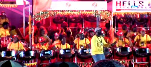 Hells Gate Steel Orchestra on their way to becoming the 2019 National Panorama champions
