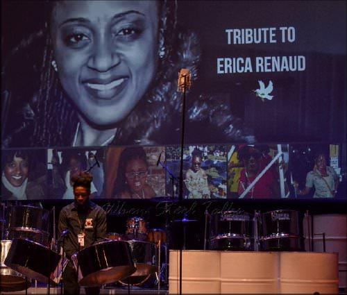 Tribute to panist Erica Renaud at Pan Is Sweet 2019