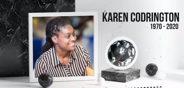 Saying Goodbye to Karen Codrington