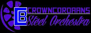 Crown Cordaans Steel Orchestra band logo - When Steel Talks