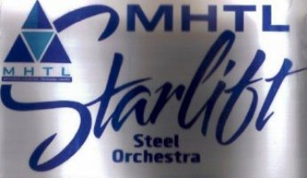 Starlift Steel Orchestra band logo - When Steel Talks