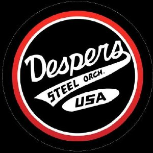Despers USA Steel Orchestra band logo - WST