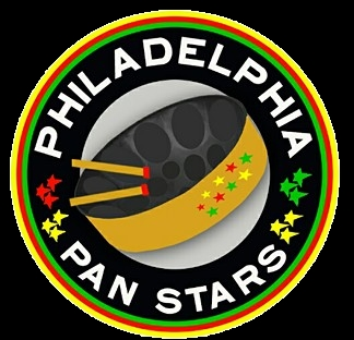 Philadelphia (Philly) Pan Stars Steel Orchestra band logo - WST
